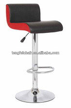 PU bar stools,Certificated SGS 330 hight gas lift,385mm chroming base,360 degree swivel!