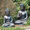 Resin big size Thai buddha statues