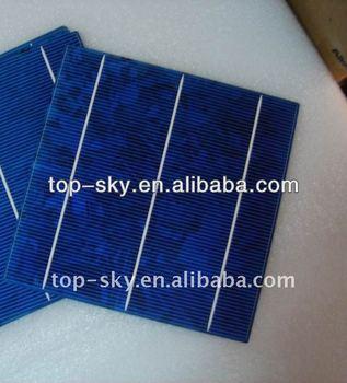 Taiwan brand 156mmx156mm multicrystalline solar cell, 6inch 3BB high efficiency multi cell