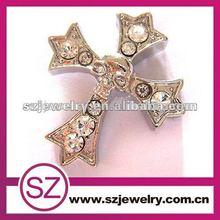 G51 newest rhinestone crystal cross pendant wholesale
