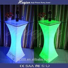LED light cocktails table/event lighting tables/lounge cocktail furniture