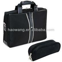 "2015 Fashion Black Nylon 15.6"" MOQ 500 For Male Successful Fine Workmanship Fashion Business Laptop Case"