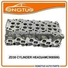 Aluminum Diesel Engine Parts Vectra ZD30 Motor Cylinder Head 3.0 DTI DOHC 16V 2000-,11309-DC00B