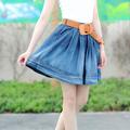 as meninas do joelho comprimento curto sexy mulheres designer mini saia jeans