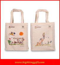 2012 Fashion drawstring Cotton bag /cotton shopping bag