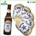 Adhesivo eliminar la botella de cerveza etiquetas