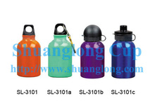 12oz 350ml Aluminum Kid Water Bottle With Sipper, Metal Water Bottle, BPA free Aluminum Water Bottle