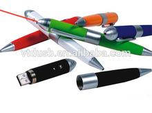 Led USB flash drive, Superior Quality USB LED 16GB Sharp Design Pen Metal USB memory disk 2.0,Corloful usb disk novelty driver