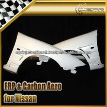 For Nissan Skyline R33 GTR BN Style Fiber Glass Front Vented Fender Body Kits