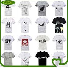 custom high quality cotton tshirts for men