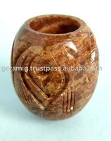 Stone Cup for Smoking Pipe