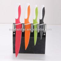 4 pcs Non stick knife set Kitchen knife