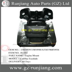 HOT SALE Auto Part Engine Mount for Cadillac Escalade OEM NO.15854939/15854940/A5365/96854936 (GM Part)