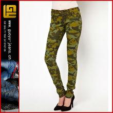 Camouflage jeans women (GYX0623)