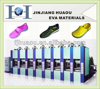 eva shoes injection machine