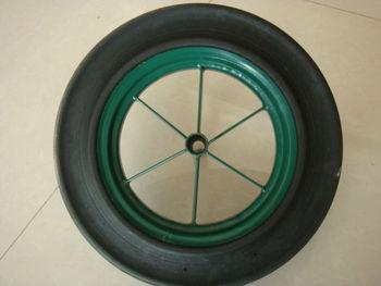 14 inch solid wheel wheelbarrow solid wheel