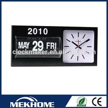 New style Auto Flip Rectangular Wall Clocks