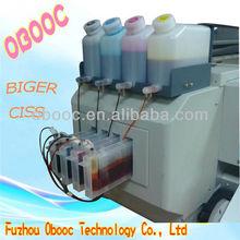 Bulk CISS For Roland Mutoh Mimaki Wide Format Printer 4 Tank+4 Ink Cartridge