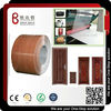 wooden grain pvc film metal laminated sheet