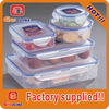 High quality lock and seal walmart plastic storage containers