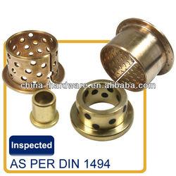 oilite oilless bushing/sintered bronze bearing/brass bearing brass bush china manufacturer