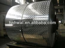 Best Price Aluminum Checker Plate 1050 3003 5052 for skid