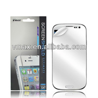 Cell phone mirror screen protectors for Samsung galaxy s3 mini oem/odm (Mirror)