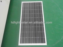 High Efficiency price per watt solar panels 190wp