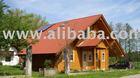 log house-dwelling 130m2 4,2m sidewall roof pitch 35degrees-2 floors carport