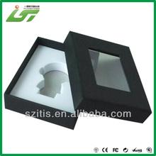 black printing decorative gift nesting box with window