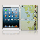 Embossed 3D Picture Design for Ipad Mini Case Cover