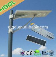 2014 new products led lighting unit 60w 24v 5 year warranty solar powered street light