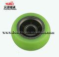yeşil tekerleği kapı makarası sürgülü dolap