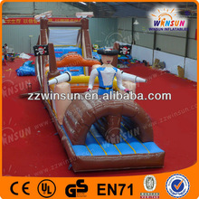 Funny large inflatable amusement cowboy inflatable games