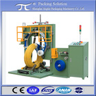 Automatic pipe coil wrapping machine/wrapper