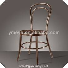 out door metal bentwood style bar chair on hotel