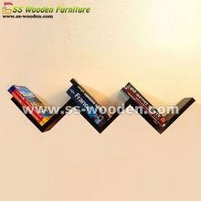 Home decorative zig zag shelving storage WS-601212