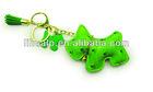 Cute animal pu keychain maker