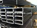 tubo rectangular y tubo de acero