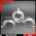diâmetro 10cm plástico transparente bola de natal