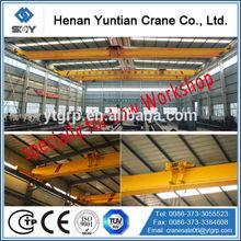 Low Workshop Used Light Duty Single Beam Overhead Crane
