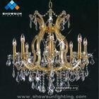 golden chandelier earring