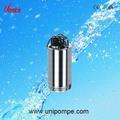 Top qualité 2ss-750 en deux étapes pompes submersibles en acier inoxydable, pompe à eau électrique