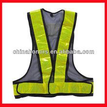 black safety vest/cheap safety reflective vest
