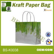 Durable apparel packaging paper bags