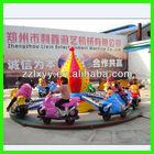 2014 most popular kiddie game amusement park moto racing rides/amusement park rotary moto rides