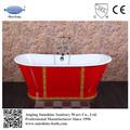 venta caliente independiente bañera de porcelana con el hierro de faldón