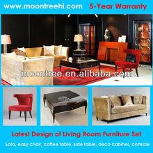 Fashionable Italian Design MLR-1302 Top Quality Ebony & Birds Eye Maple Wooden Living Room Furniture