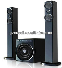 Wooden material made 2.1 channel speaker/HiFI/home theater system with USB/SD