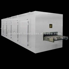 Tunnel Quick Food Freezer with CAS Function (500Kg/H Type)